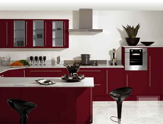 Pvc edged doors for Kitchen sunmica design
